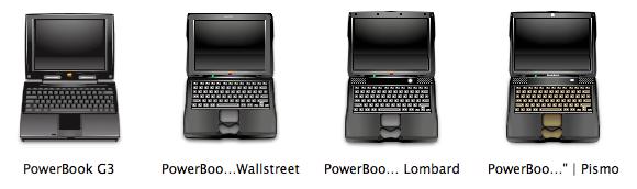 G3 PowerBooks
