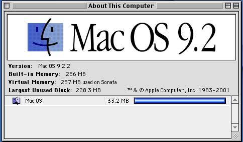 About this Mac - 9.2.2